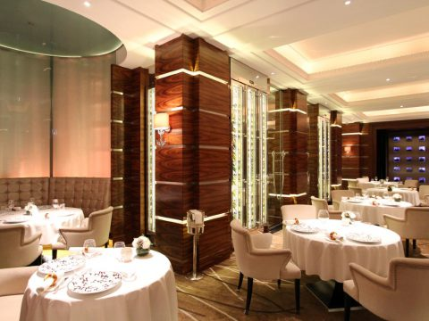 Alyn Williams Restaurant at The Westbury, London, UK