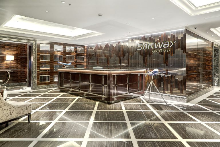 Silkway Airlines HQ | Alex Kravetz Design