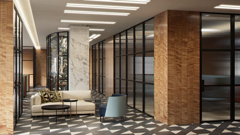 VIP Offices for Global Brand | Alex Kravetz Design